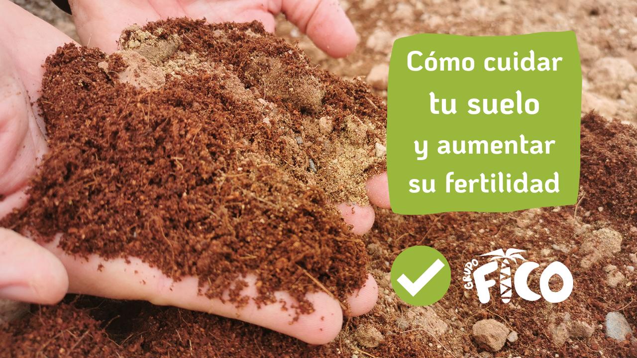 Cuidar el suelo y aumentar su fertilidad